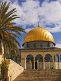 Dome of the Rock, Jerusalem, Israel, Middle East Photographic Print by Michael DeFreitas