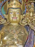 Padmasambhava Statue, Kathok Wodsallin Gompa, Yuksom, Sikkim, India, Asia Fotografiskt tryck av Jane Sweeney
