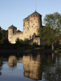Olavinlinna Medieval Castle, Savonlinna, Saimaa Lake Photographic Print by Dallas & John Heaton