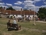 Village Green and Pub in East Dean, East Sussex, England, United Kingdom, Europe Photographic Print by Nigel Blythe