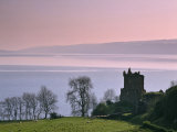 Urquhart Castle, Strone Point on the North-Western Shore of Loch Ness, Inverness-Shire Photographic Print by Nigel Blythe