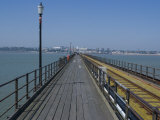 Southend Pier, Southend-On-Sea, Essex, England, United Kingdom, Europe Photographic Print by Ethel Davies