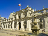 Palacio De La Moneda, Santiago, Chile, South America Photographic Print by Michael DeFreitas
