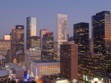 Skyline, Houston, Texas, United States of America, North America Photographic Print by Michael DeFreitas