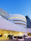 Solomon R. Guggenheim Museum, Built in 1959, Designed by Frank Lloyd Wright, Manhattan Photographic Print by Christian Kober