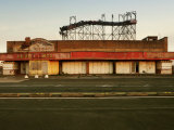 Derelict Amusement Park, North Wales, United Kingdom, Europe Photographic Print by  Purcell-Holmes