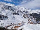 Meribel-Mottaret, 1750M, Ski Area, Meribel, Three Valleys, Savoie, French Alps Photographic Print by Gavin Hellier