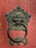 Ornate Detail on a Traditional Door in Simatai, China, Asia Photographic Print by John Woodworth