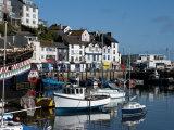 Brixham Harbour, Devon, England, United Kingdom, Europe Photographic Print by Charles Bowman
