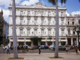 Hotel Inglaterra, Parque Central, Havana Vieja, Cuba, West Indies, Central America Photographic Print by John Harden