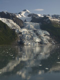 Vasser Glacier, College Fjord, Inside Passage, Alaska, United States of America, North America Photographic Print by Richard Maschmeyer