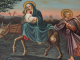 The Flight into Egypt, St. Anthony Coptic Church, Jerusalem, Israel, Middle East Photographic Print by  Godong