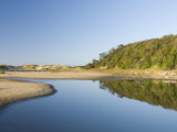 Beach with Sand Dunes and Lake, Lake Tyres, Victoria, Australia, Pacific Photographic Print by Richard Nebesky