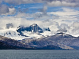 Mountains in Southern Patagonia, Chile, South America Photographic Print by Michael DeFreitas