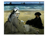 Sur la Plage (On the beach), 1873 Giclee Print by Edouard Manet
