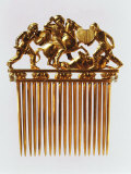 Warriors, Gold Comb, 5th - 3rd Century BC Photographic Print