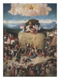 The Haywain, Central Panel from the Haywain Triptych, c. 1485-90 Giclee Print by Hieronymus Bosch