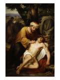 The Good Samaritan, 1857 Giclee Print by José Manchola