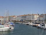Harbour and Quayside, St. Martin-De-Re, Ile De Re Charente-Maritime, France, Europe Photographic Print by Peter Richardson