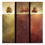 Trees Dreaming Giclee Print by Tracey Lane