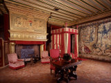 Bedroom of Cr de Vendme, Son of Henry IV, King of France, and his Mistress Gabrielle d'Estr Photographic Print