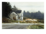 Roadside Pumpkins Giclee Print by Thomas William Jones