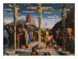 Calvary, Christ on the Cross Giclee Print by Andrea Mantegna