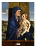 Madonna and Child with Pear, 1480-90 Giclee Print by Giovanni Bellini