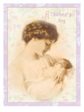 A Mother's Joy Giclee Print by Bessie Pease Gutmann