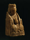 Queen, Ivory Chess Piece, 12th century Italian Photographic Print