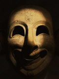 Clown Mask, Terracotta, Phoenicia, 6th century BC, from San Esperate, Sardinia Photographic Print