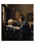 The Astronomer, 1668 Giclee Print by Johannes Vermeer