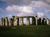 Stonehenge, Late 3rd millennium BC, Salisbury Plain, England Photographic Print