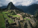 Machu Picchu, Sacred City of the Incas, built 1438-71, Cuzco, Peru Photographic Print
