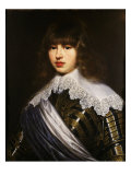 Christian V, 1646-99 King of Denmark and Norway, as a Boy Giclee Print by Justus Sustermans