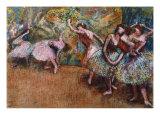 Ballerinas Dancing, c. 1870s Giclee Print by Edgar Degas