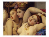 The Turkish Baths, Detail Giclee Print by Jean-Auguste-Dominique Ingres