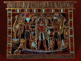 Pharaoh Ahmose I Purified with Sacred Water of Gods Amon Ra and Ra, 18th dynasty Photographic Print