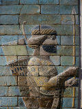Archer, from Frieze of the Archers, Polychrome Glazed Brick, 5th century BC Photographic Print