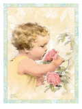 Smelling Flowers Posters by Bessie Pease Gutmann