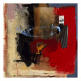 Variation in Red and Black I Giclee Print by T. L. Lange