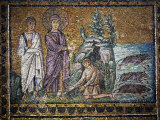 Christ Heals the Man Possessed by Devil, Saint Apollinare Nuovo Ravenna, 6th century AD Photographic Print