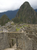 Ancient Doorway to the City, Machu Picchu, UNESCO World Heritage Site, Peru, South America Photographic Print by Richard Maschmeyer