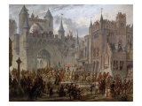 Henry II, 1519-59 King of France, entering Metz, France, 18 April 1552 Giclee Print by Auguste Migette