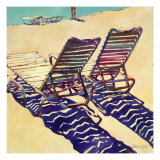 Seating for Two Giclee Print by Darrell Hill