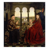 Virgin of Autun (Madonna of Chancellor Rolin) Giclee Print by  Jan van Eyck