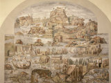 Life on River Nile, Mosaic Pavement, c. 80 BC, Roman, from Sanctuary of Fortuna, Praenesta, Italy Photographic Print