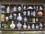 Display of Vases at the Qing and Ming Ancient Pottery Factory, Jingdezhen City, Jiangxi Province Photographic Print by Christian Kober