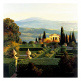 Villa D'Orcia Gicle-tryk af Max Hayslette