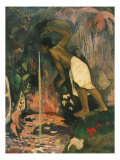 Papa Moe, L'Eau Mysteuse, Mysterious Water, 1893 Giclee Print by Paul Gauguin